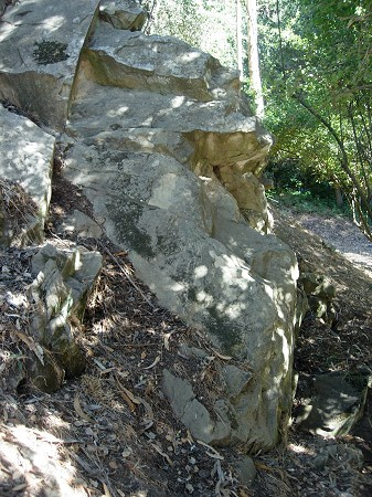 outcrop