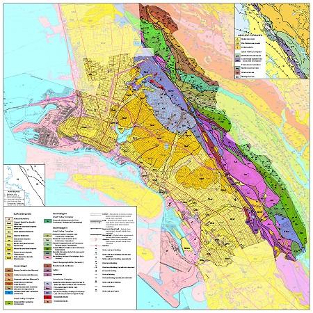 oakland geologic map