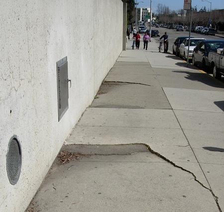 sidewalk slump