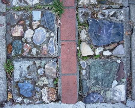 rock driveway