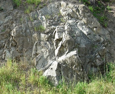 franciscan outcrop