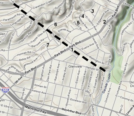 walk 23 map