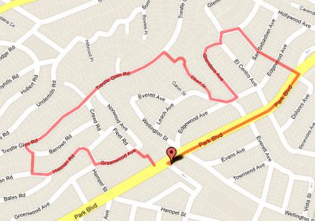 walk 23 route