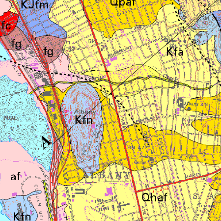 walk 35 geologic map