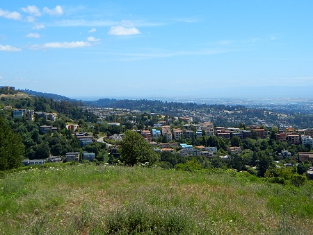 Claremont ridge view