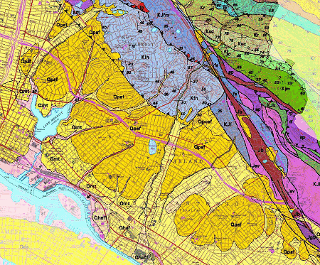 walk 20 geologic map