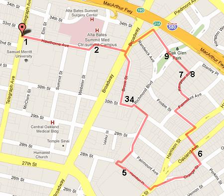 walk 20 route
