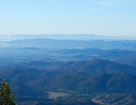 view from Blue Ridge