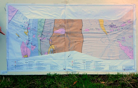 tunnel geologic map